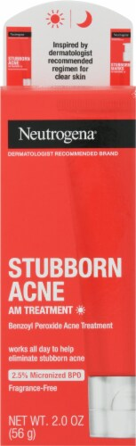 Neutrogena Stubborn Acne AM Treatment Perspective: front