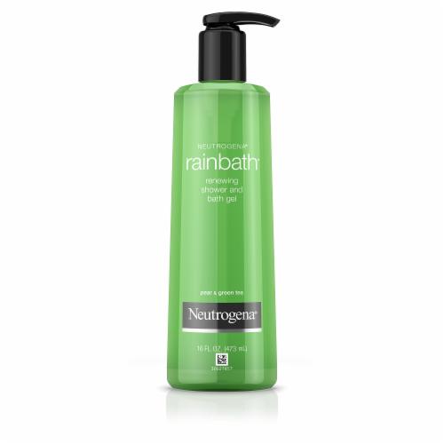 Neutrogena Rainbath Renewing Pear & Green Tea Shower & Bath Gel Perspective: front