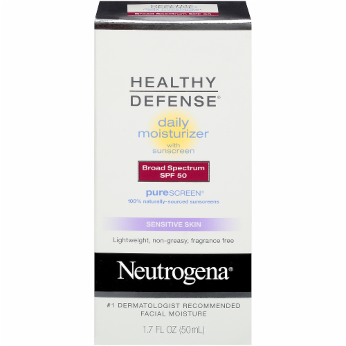 Neutrogena Healthy Defense SPF 50 Daily Moisturizer Perspective: front