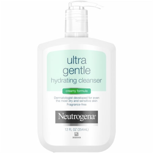 Neutrogena Ultra Gentle Hydrating Cleanser Perspective: front