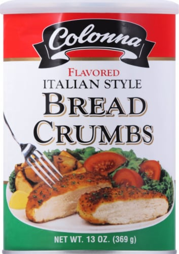 Colonna Flavored Italian Style Bread Crumbs Perspective: front