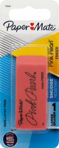 Paper Mate® Pink Pearl® Eraser Perspective: front