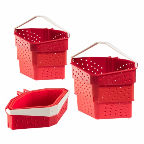 Hutzler Collapsible Cooker - Red Perspective: front