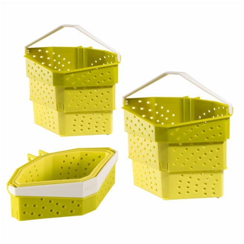 Hutzler Collapsible Cooker - Green Perspective: front