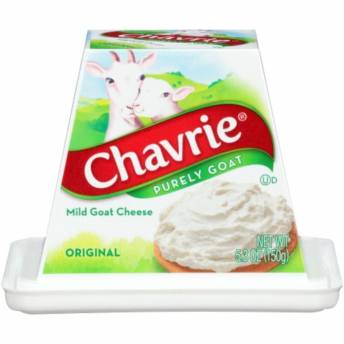 Chavrie Purely Goat Original Mild Goat Cheese Perspective: front