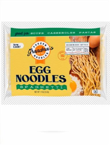 Grandma's Spaghetti Egg Noodles Perspective: front