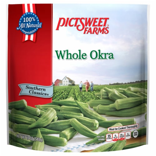 PictSweet Farms Southern Classics Whole Okra Perspective: front