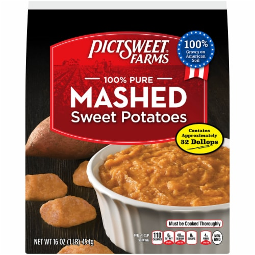 PictSweet Farms Mashed Sweet Potatoes Perspective: front