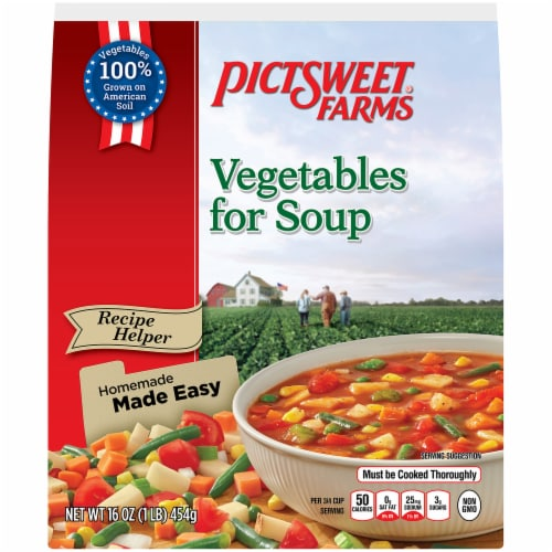 PictSweet Farms Vegetables for Soup Perspective: front
