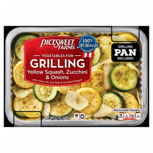 PictSweet Farms Vegetables for Grilling Yellow Squash Zucchini & Onions Perspective: front