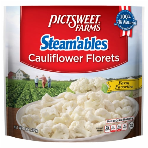 PictSweet Farms Steam'ables Cauliflower Florets Perspective: front