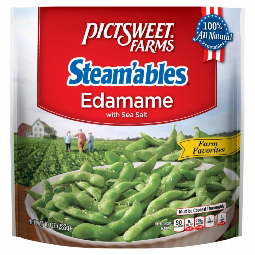 PictSweet Farms Steam'ables Edamame with Sea Salt Perspective: front