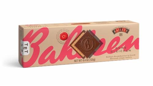 Bahlsen Baileys Strawberries & Cream Flavored Crispy Wafers Perspective: front