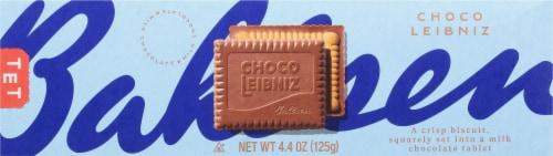 Bahlsen Milk Chocolate Leibniz Biscuits Perspective: front