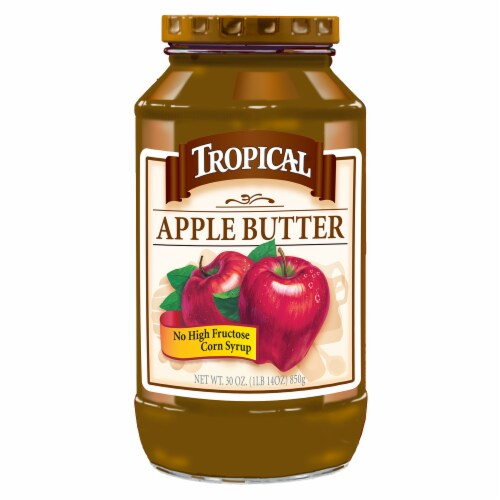 Tropical Apple Butter Perspective: front