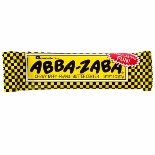Annabelle's Abba-Zaba Taffy Candy Perspective: front