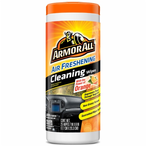 Armor All® Orange Cleaning Wipes Perspective: front
