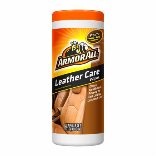 Armor All® Leather Wipes Perspective: front
