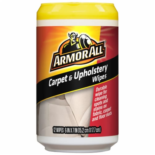 Armor All® Carpet & Upholstery Wipes Perspective: front