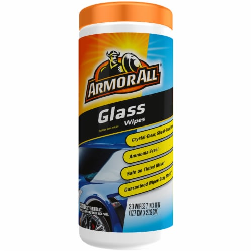 Armor All Glass Cleaner Wipes Perspective: front