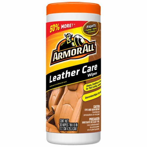 Armor All® Leather Care Wipes Perspective: front