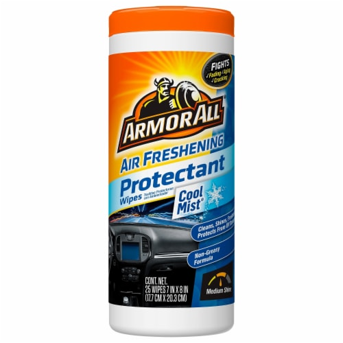 Armor All® Air Fresh Cool Mist Wipes Perspective: front