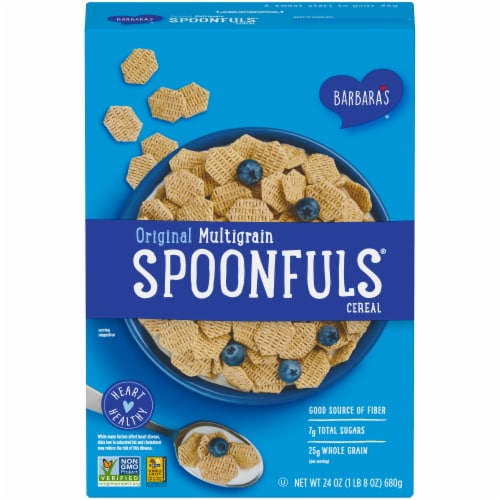 Barbara's Original Multigrain Spoonfuls Cereal Perspective: front