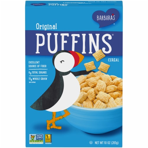 Barbara's Puffins Original Cereal Perspective: front
