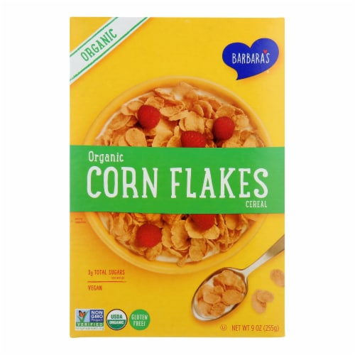 Barbara's Bakery - Cereal Corn Flakes Gluten Free - Case of 10-9 OZ Perspective: front