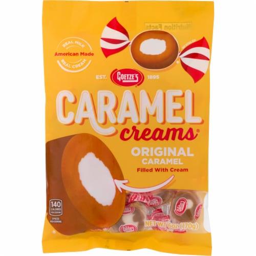 Goetze's Caramel Creams Perspective: front