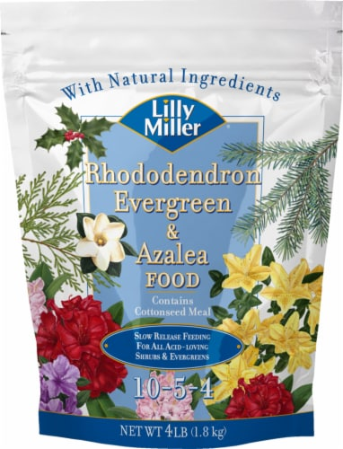 Lilly Miller Rhododendron Evergreen & Azalea Food Perspective: front