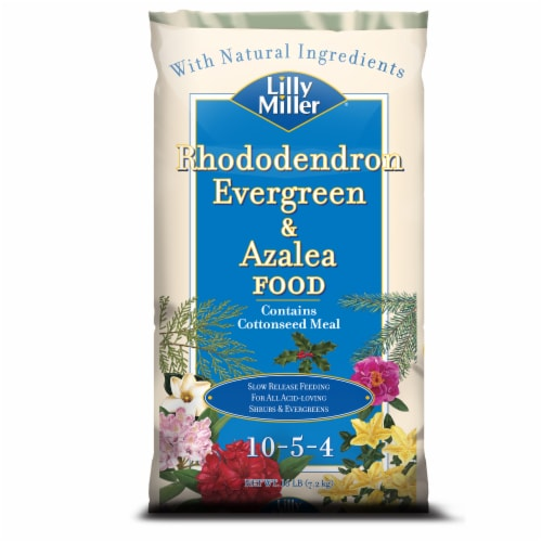 Lilly Miller 10-5-4 Rhododendron Evergreen & Azalea Food Perspective: front
