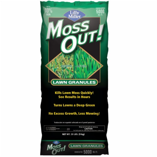 Lilly Miller Moss Out Lawn Granules Perspective: front