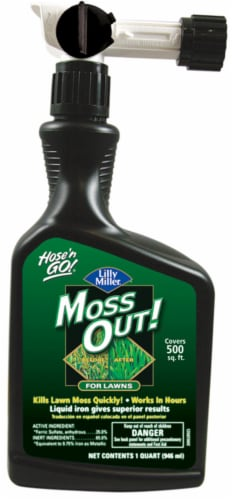 Lilly Miller® Hose 'N Go!® Moss Out for Lawns Perspective: front