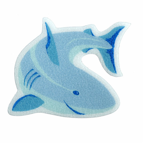 SlipX Solutions Tub Tattoo Sharks 5 Pack - Blue Perspective: front