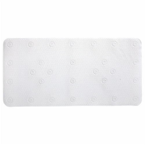 SlipX Solutions Soft Touch Bath Mat - White Perspective: front