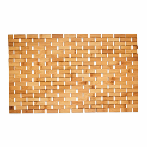 SlipX Solutions Bamboo Mat - Natural Perspective: front