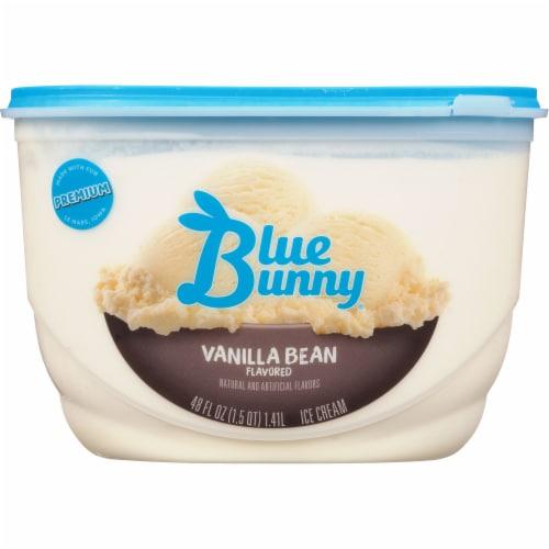 Blue Bunny Premium Vanilla Bean Ice Cream Perspective: front