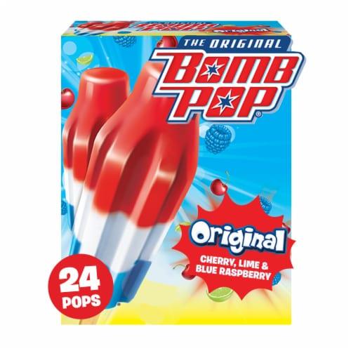 Bomb Pop Original Pops Value Pack Perspective: front
