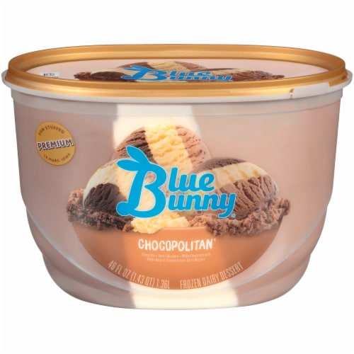 Blue Bunny Chocopolitan Ice Cream Perspective: front