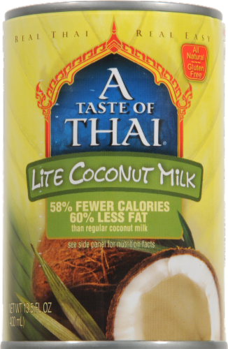 A Taste of Thai Lite Coconut Milk Perspective: front