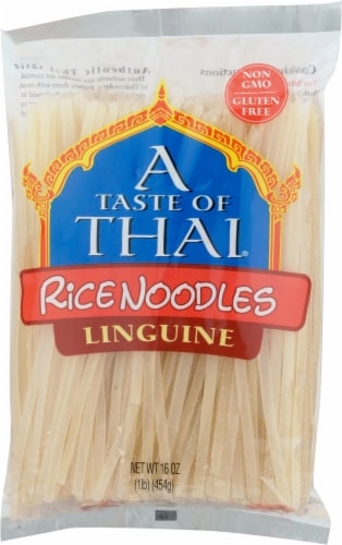 A Taste of Thai Rice Noodles Perspective: front