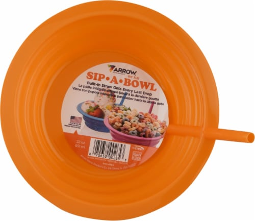 Arrow 22 Ounce Sip-A-Bowl Perspective: front