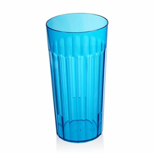 Arrow Home Products Blue Plastic Tumbler Tumbler 1 pc - Case Of: 1 Perspective: front