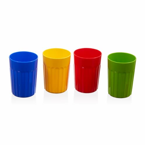 Arrow Plastic Cup - Assorted Perspective: front