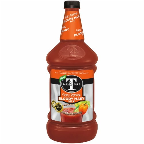 Mr & Mrs T Fiery Pepper Bloody Mary Mix Perspective: front