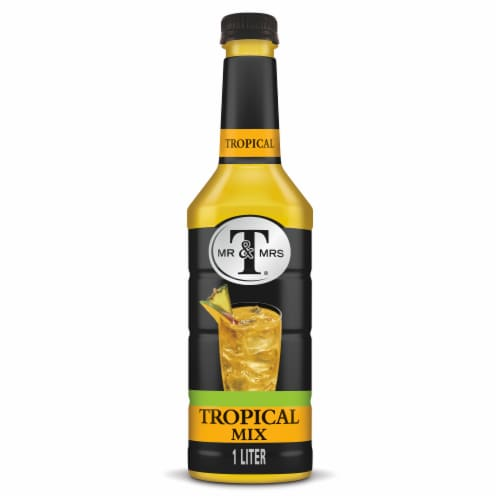 Mr & Mrs T Tropical Drink Mix Perspective: front