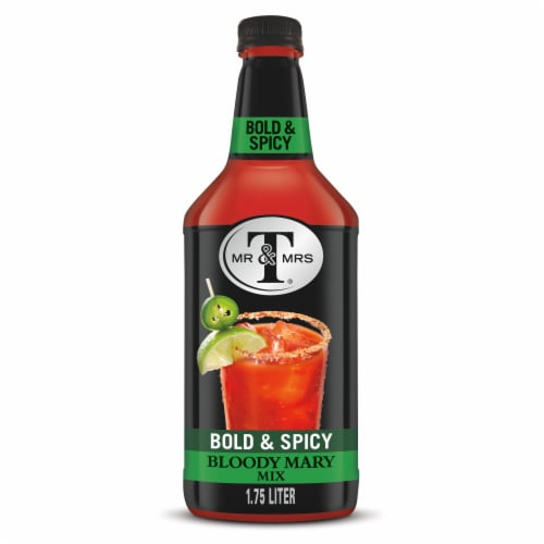 Mr & Mrs T Bold & Spicy Bloody Mary Mix Perspective: front