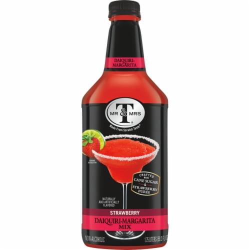Mr & Mrs T Strawberry Daiquri Margarita Mix Perspective: front