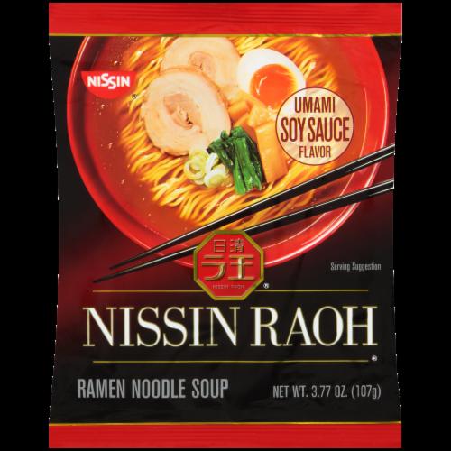 Nissin® Raoh Ramen Noodle Soup Perspective: front